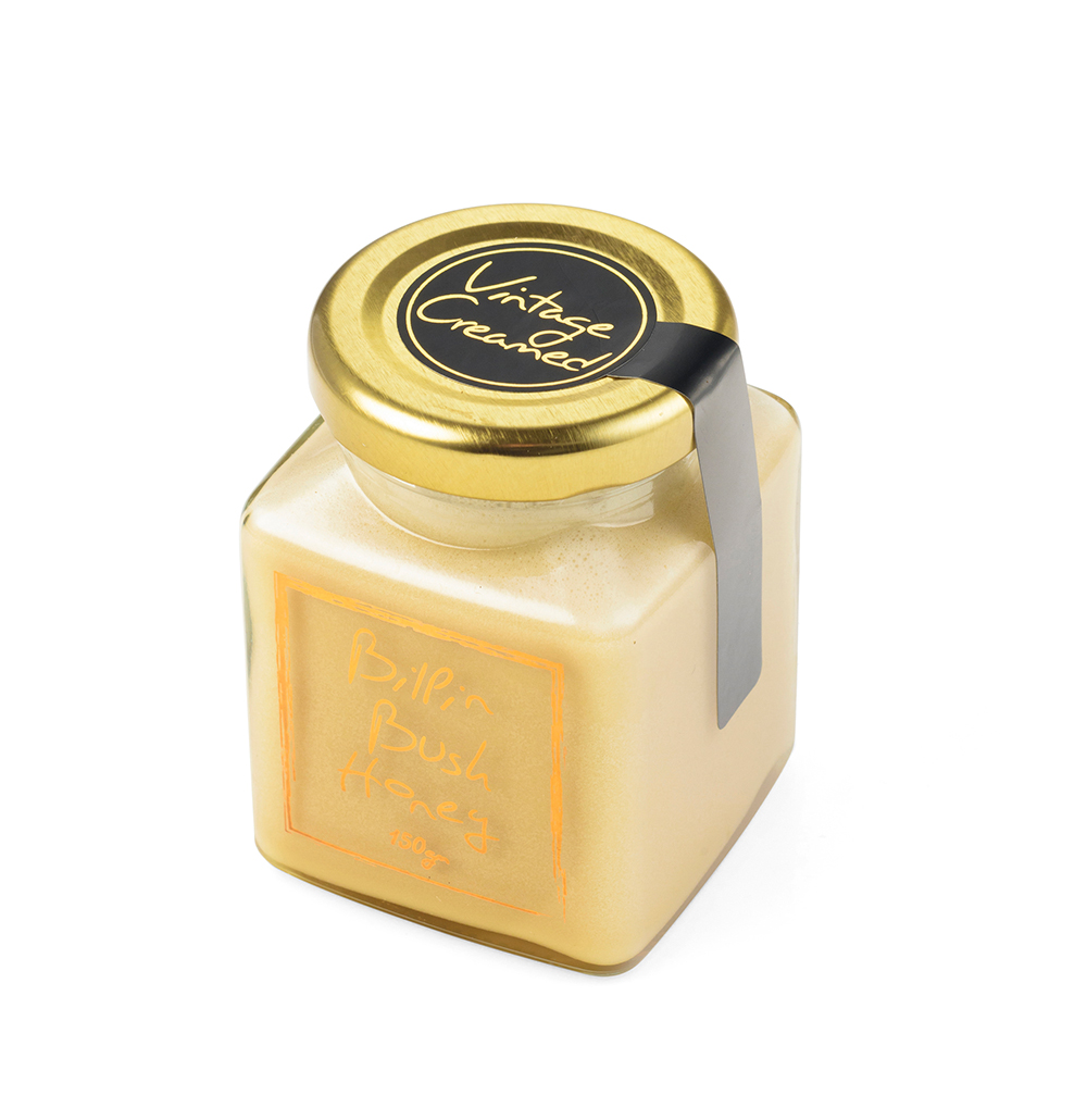 bilpin bush honey vintage creamed 150g