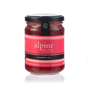 Alpine Berry Farm Raspberry Jam 285g