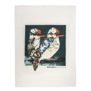 Fiona Roderick Laughing Kookaburra Tea Towel