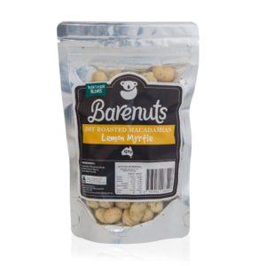 Barenuts Lemon Myrtle Macadamia Nuts