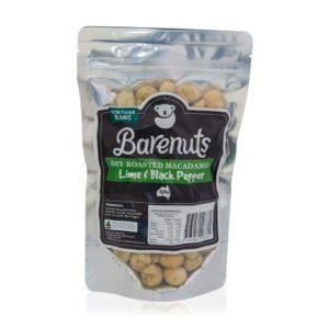 Barenuts Lime&Black Pepper Macadamia Nuts