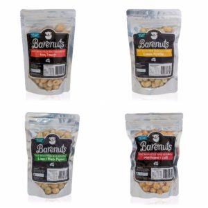 Barenuts Macadamia Nuts 150g x 4 Flavours