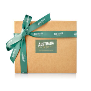 Australian Gift Box with Ribbon