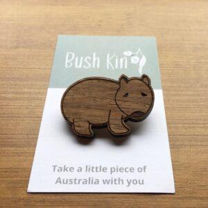 Bush Kin Wombat design magnet